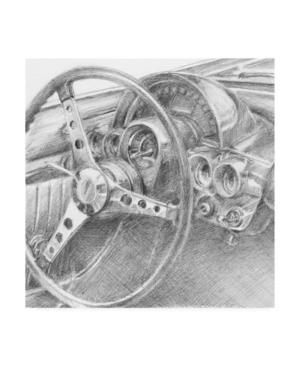 "Ethan Harper Behind the Wheel Ii Canvas Art - 27"" x 33"""