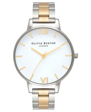 Olivia Burton Women's Two-Tone Stainless Steel Bracelet Watch 38mm
