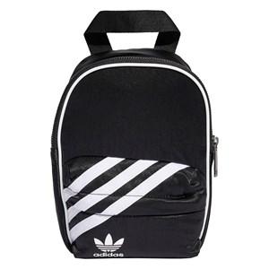 adidas Originals Black 3 Stripes Backpack One Size