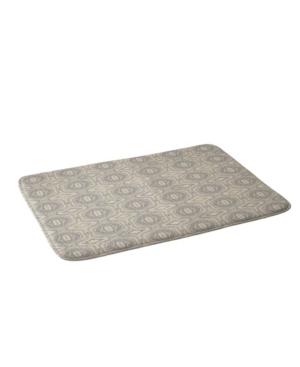 Deny Designs Holli Zollinger Anthology Of Pattern Seville Marble Grey Bath Mat Bedding