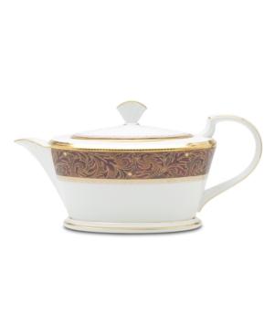 "Noritake ""Xavier Gold"" Teapot, 40 oz"