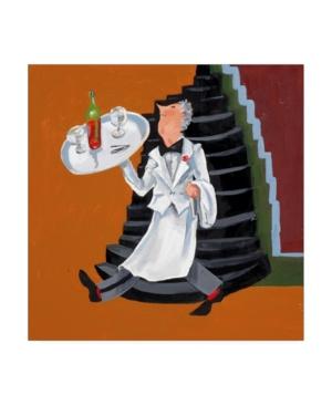 "Patricia A. Reed Wine Garcon Canvas Art - 15.5"" x 21"""