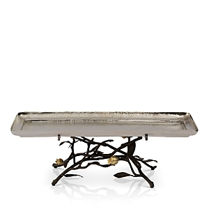 Michael Aram Pomegranate Footed Centerpiece Tray