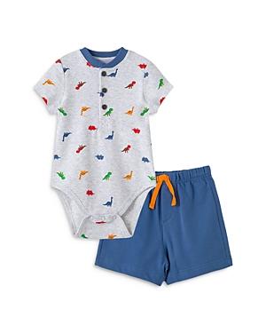 Little Me Boys' Dino Bodysuit & Shorts Set - Baby