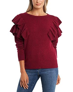 1.state Ruffled Sweater