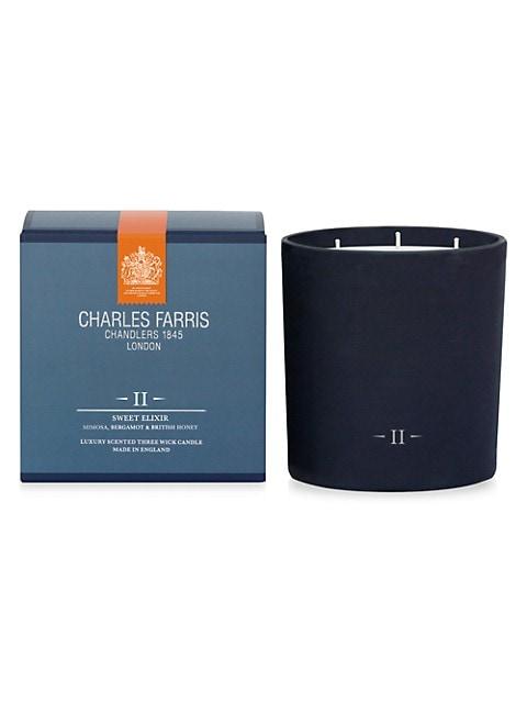 II Sweet Elixir Luxury Scented 3-Wick Candle