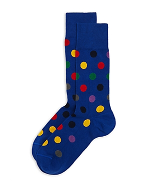Ps Paul Smith Polka Dot Crew Socks