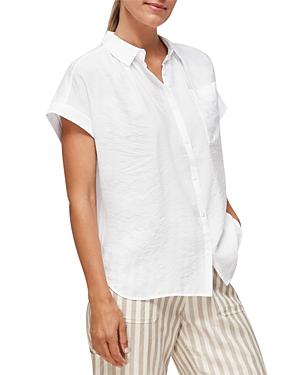 Whistles Nicola Textured Shirt