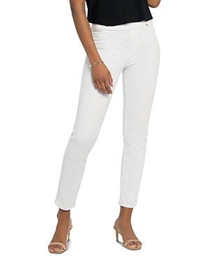 Nic+Zoe Zoe Skinny Jeans in Paper White