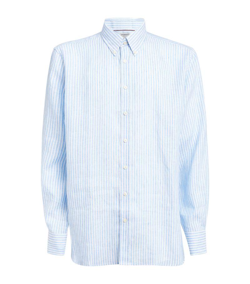 Purdey Striped Linen Shirt