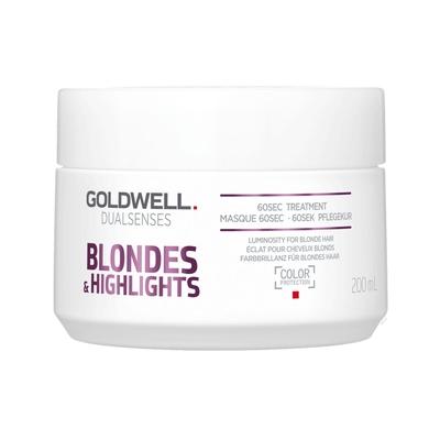 GOLDWELL 光纖60秒髮膜(矯色專用) 200ml-快速到貨