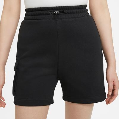 NIKE 短褲 運動短褲 慢跑 健身 運動 女款 黑 DA3488010