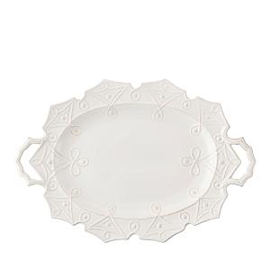 Juliska Jardins du Monde Whitewash Turkey Platter