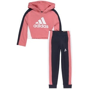 adidas Performance adidas Performance Pink Logo Sweat Set 11-12 years (152 cm)