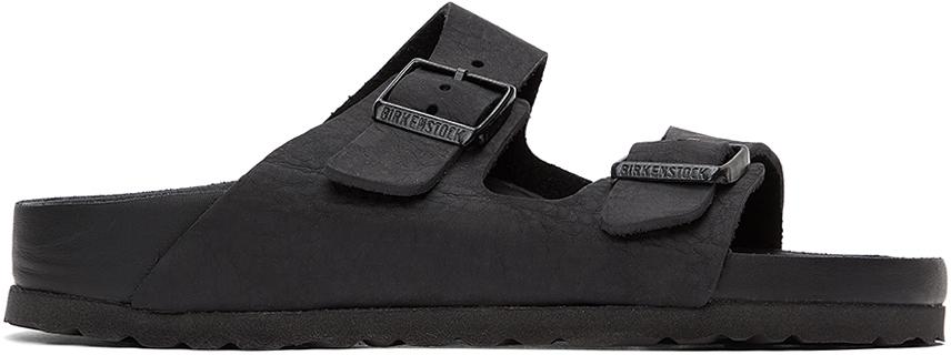 Birkenstock 黑色 Arizona 凉鞋