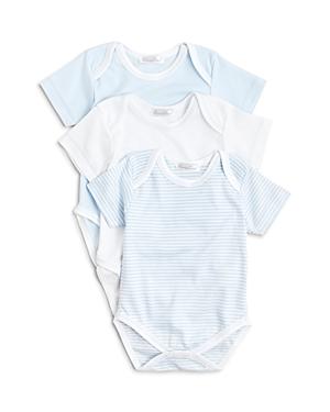 Kissy Kissy Boys' Stripe & Solid Bodysuit, 3 Pack - Baby