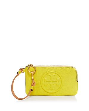 Tory Burch Perry Color Blocked Leather Card Case