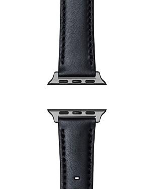 Shinola Essence Leather Strap for Apple Watch, 24mm