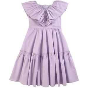 Monnalisa Purple Ruffle Dress 10 years