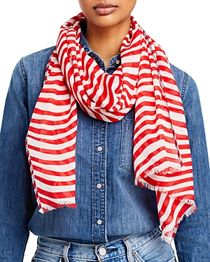 Fraas Wave Striped Scarf