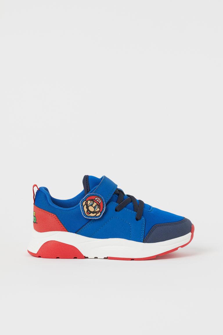 H & M - 圖案運動鞋 - 藍色