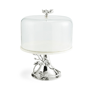 Michael Aram White Orchid Cake Stand with Dome