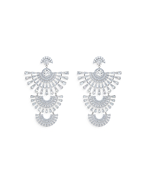 Swarovski Sparkling Dance Dial Up Triple Drop Earrings