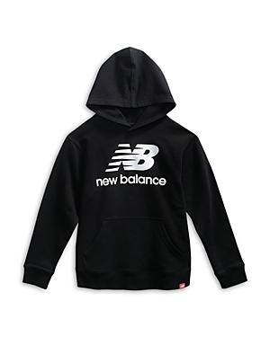New Balance Boys' Logo Pullover Hoodie - Big Kid