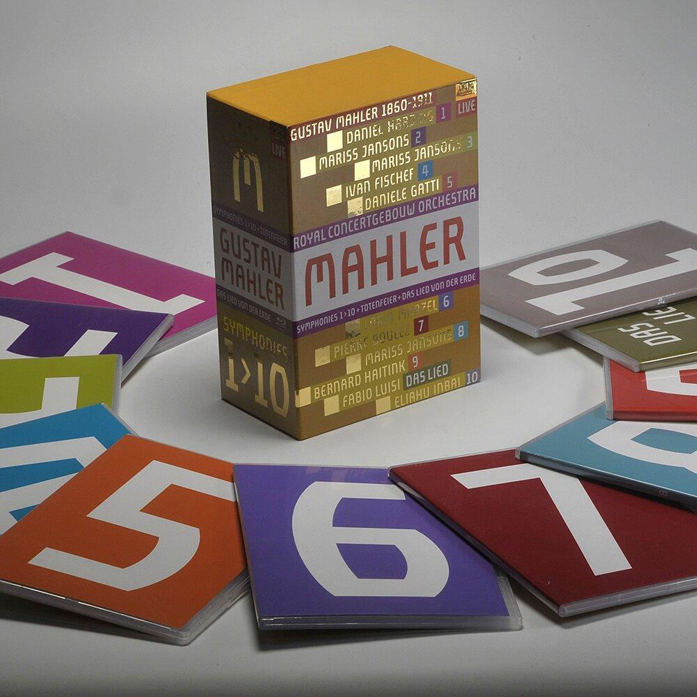 馬勒交響曲全集 11 DVD Mahler Symphonies Nos. 1-10 (DVD)