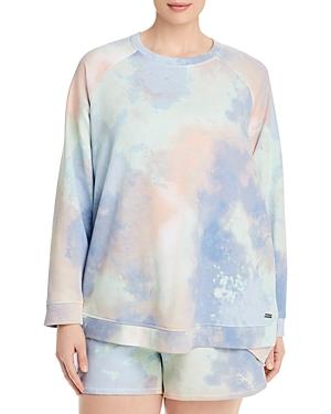 Marc New York Plus French Terry Raglan Pullover Sweatshirt