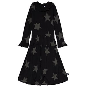 NUNUNU NUNUNU Black Victorian Star Balloon Dress 18-24 Months