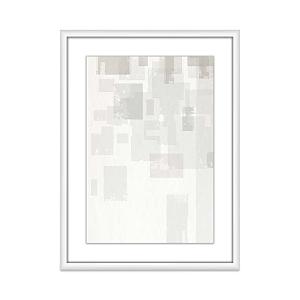 Whom Home Clay Tiles Wall Art, 18 x 24