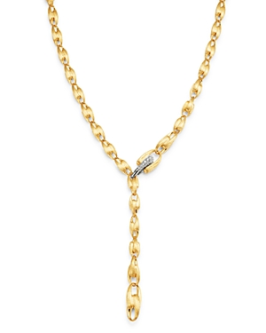 Marco Bicego 18K Yellow Gold Lucia Diamond Chain Necklace