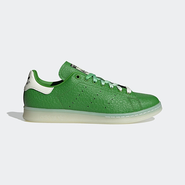 Adidas Stan Smith [FZ2705] 男鞋 運動 休閒 抱抱龍 經典 穿搭 迪士尼 愛迪達 綠 白