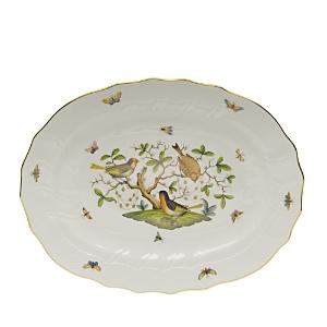 Herend Rothschild Bird Multi-Color Platter
