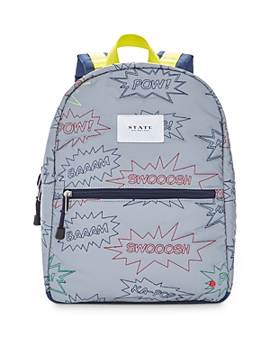 State Kids' Kane Mini Embroidered Exclamations Backpack