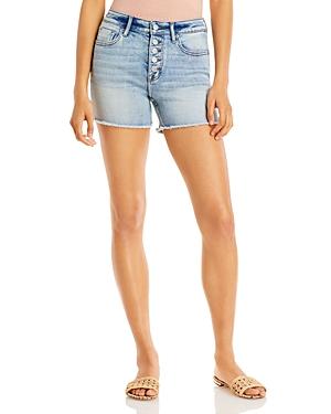 Aqua Denim Shorts in Medium Wash - 100% Exclusive