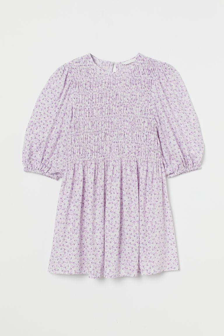 H & M - MAMA 縮褶女衫 - 米黃色