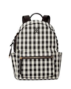 Tory Burch Piper Gingham Backpack