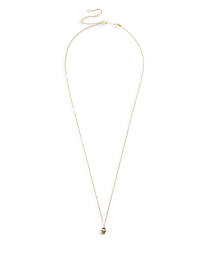 Baublebar Ishtar Pave Hamsa Hand Pendant Necklace in 18K Gold Plated Sterling Silver, 23-26