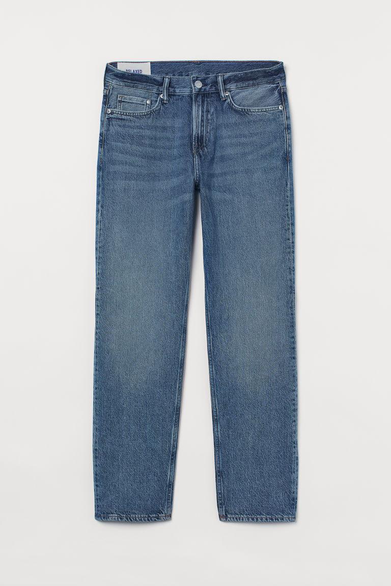 H & M - 休閒牛仔褲 - 藍色