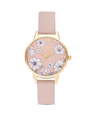 Olivia Burton Groovy Blooms Watch, 30mm