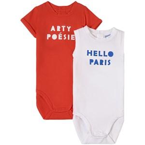 Jacadi Jacadi 2-Pack Red Baby Body 18 months
