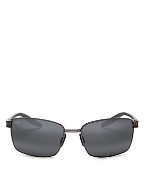 Maui Jim Men's Cove Park Polarized Square Sunglasses, 60mm