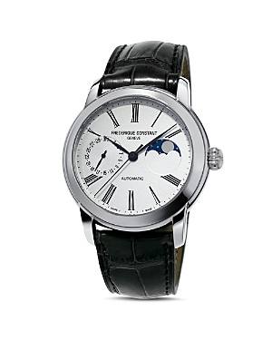 Frederique Constant Classic Moonphase Watch, 42mm