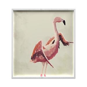 Whom Home Flamingo Flight Wall Art, 33 x 36