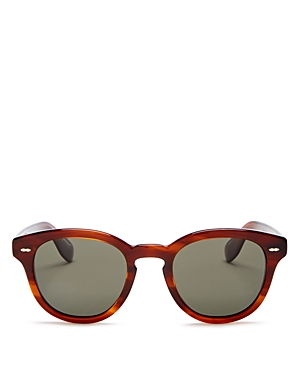Oliver Peoples Unisex Cary Grant Polarized Round Sunglasses, 50mm