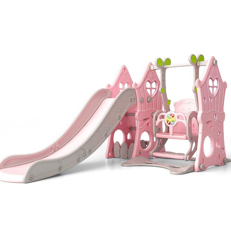 【618購物狂歡節】兒童滑梯 兒童滑滑梯秋千組合滑梯兒童室內家用寶寶游樂園小型孩多功能玩具
