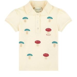 Gucci Gucci Embroidered polo