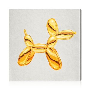Oliver Gal Balloon Dog Lux Wall Art, 16 x 16